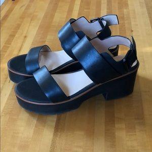 Topshop platform sandals